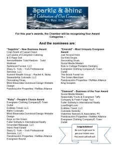 2014 Award Nominees